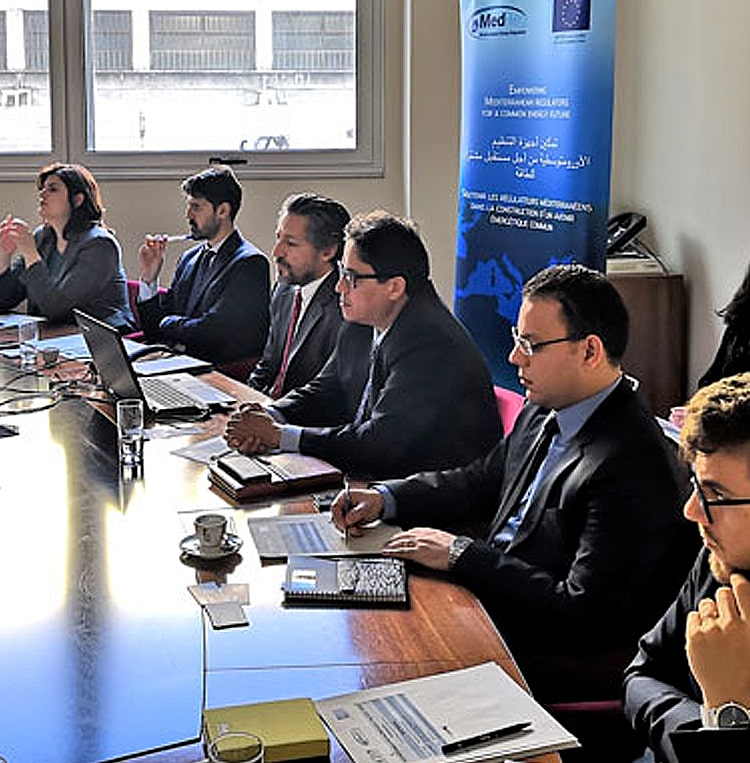L'ANRE explore les synergies avec les régulateurs méditerranéens pour intégrer les SER sur son marché de l'électricité