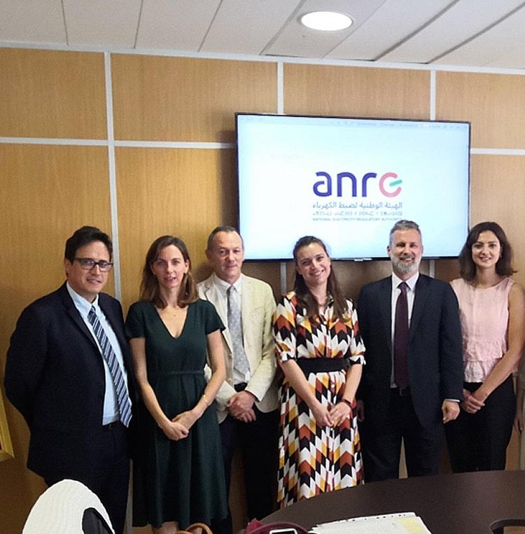 Le Secrétariat de MEDREG en visite à Rabat pour renforcer la collaboration avec le Régulateur Marocain