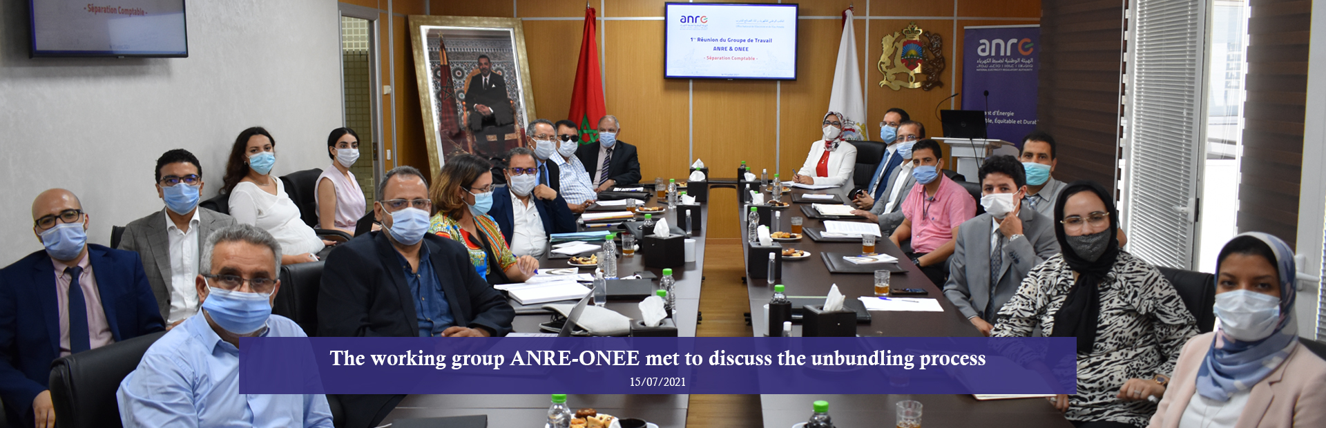 The working group ANRE-ONEE met to discuss the unbundling process